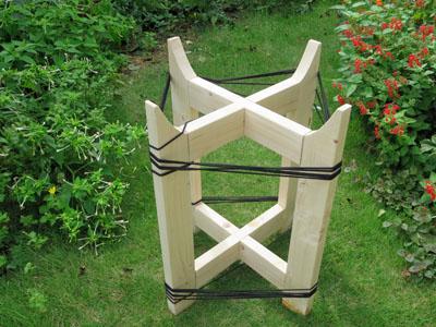 木鉢台の制作 04