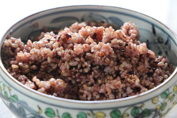古代米ごはん(玄米)