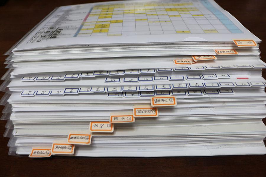 徳島市八万町手打ちそば遊山の申請書類
