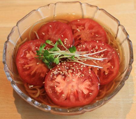 トマト 輪切り